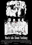 Much Ado About Nothing Poster #1 by Saturn-Kitty