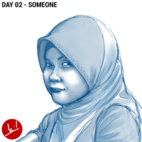 Day 02 - Someone by mohdsyukri83