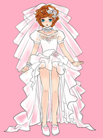 Wedding dress by bbcchu