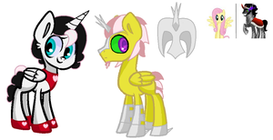 Fluttershy X Sombra OTA adopts Closed by AshriChan