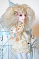 Lilly ~ Cupid repaint by Milk-and-Bunny