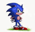 Idle Sonic by Hewison