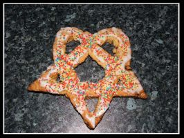 :Heartagram Cookie: by EmiValo666