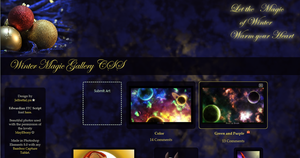 Winter Magic Gallery CSS by JeffrettaLyn