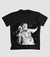 Jack Skelington and Oogie Boogie fan t-shirt! by julziana