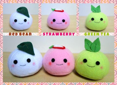 ON SALE NOW Mochi Plushies by Blakmyre