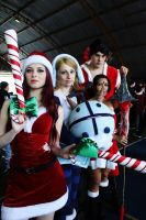 League of Legends - Christmas Cosplays by Yuukiq