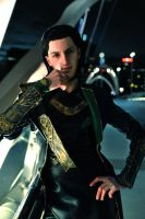 AVENGERS: Loki Laufeyson by darcywilliam