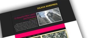 New Wordpress Concept by Hebbylaya