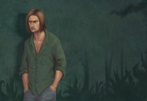 LOST -- Sawyer by sparkyrabbit