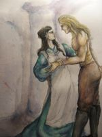 Eomer and Lothiriel by Neldor
