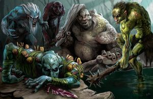Trolls of Hellfrost by chriskuhlmann