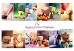 Danbo iPhone Wallpaper Pack by Lady-Tori
