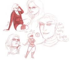 CoH Sketches 1 by jess-o