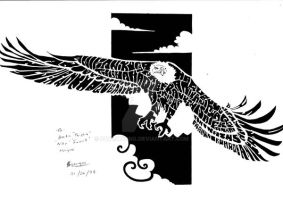 Anika name eagle by FATRATKING