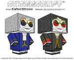 Cubeecraft - Clockwork Droids by CyberDrone