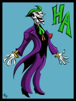 THE JOKER by Josh-van-Reyk