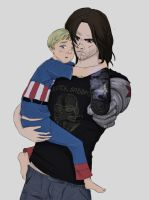 Captain America: Winter Soldier - Second Try by Falln4DarkAngel