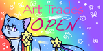 Art trades-OPEN button by SoulCats