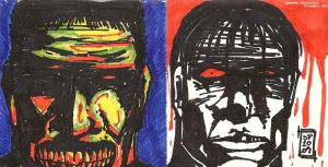 Zombie by Marker Pair by NexusDX