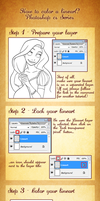 How to Color a lineart? by Katikut