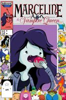 Adventure Time Comics #15 Marceline by rismo