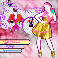 Just Dance 4 Png Pack (GP) by SmilerArianator