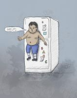 Fridge magnet by KitSiren