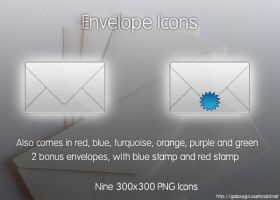 Envelope Icons by Oliuss