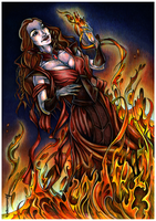 Melisandre of Asshai by ProKriK