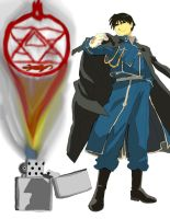 full metal alchemist Roy Mustang work 2 by daylover1313