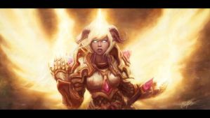Yrel - As The Dark Star Falls by TheFirstAngel
