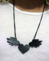 Winged heart by sinagtala