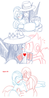 Mega Man ship asks 4 by brittinroberts
