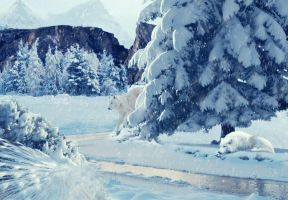 Hiver Bleu by Fairling