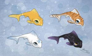 [Closed] Adoptables: Cute Fishes by MySweetQueen