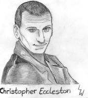 Christopher Eccleston - The 9th Doctor by Sayuji