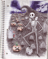 Jack Skellington by rikusumi
