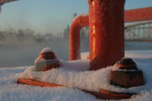 Frozen Steam by entropy462