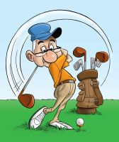 Fore! by cedricstudio
