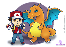 Fan Art Pokemon Trainer by brunasousa