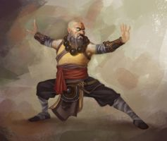 Monk by sidd16