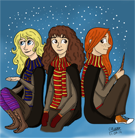 Potter girls by TheLilAlien