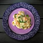 Risotto with shrimps and asparagus by attomanen