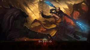 Diablo 3 Monk Wallpaper by Garvandule