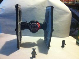 Lego First Order Special Forces TIE Fighter by Talaeladar