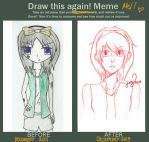 Draw This Again Meme: Mel Darkthrop by xxMusicalMime