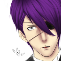 OC as butler WIP by chapter-zero