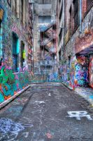 Hosier Graffiti HDR by DanielleMiner