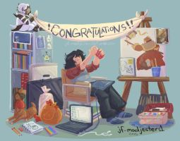 AC- CONGRATULATIONS by MadJesters1